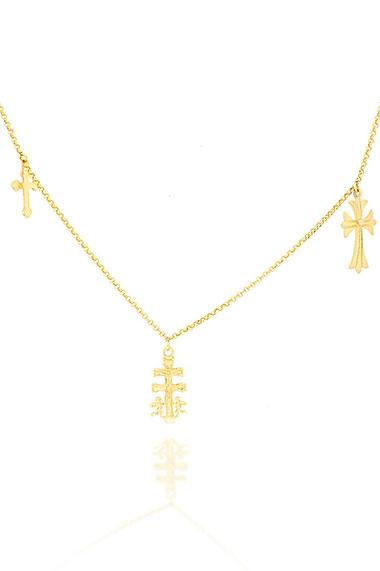 la-coqueta-lola-gargantilla-three-crosses-oro-2enespiral