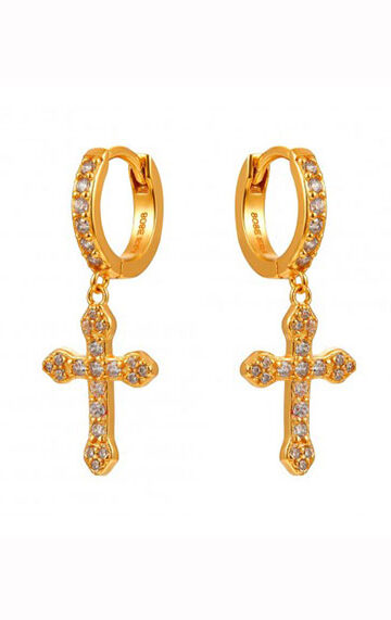 la-coqueta-lola-pendientes-arito-eternal-crosses-gold-circonita