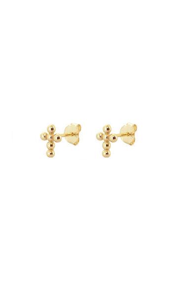 la-coqueta-lola-pendientes-mini-cross-bolitas-oro