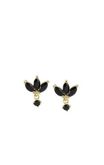la-coqueta-lola-invitada-novia-guadalajara-pendientes-mini-flowers-black