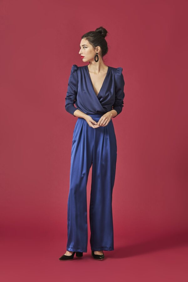 la-coqueta-lola-invitada-boda-guadalajara-camisa-gracia-azul