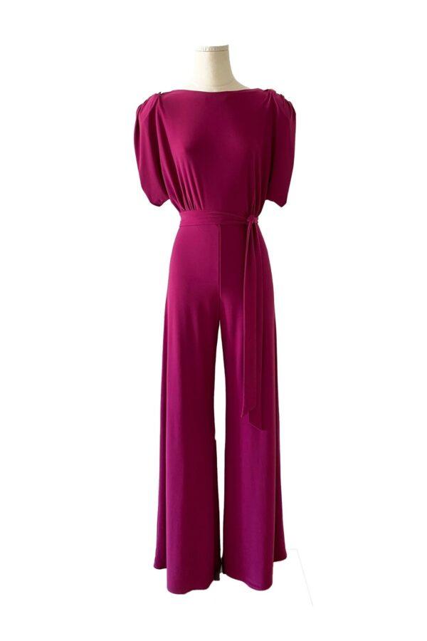 la-coqueta-lola-invitada-guadalajara-coosy-vestido-mono-milos-purpura
